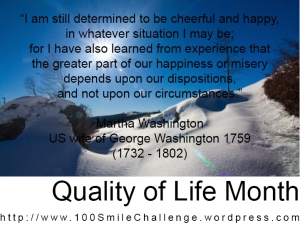 Martha Washington Mindset Quote